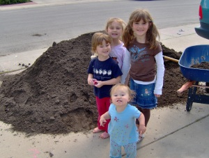 Big dirt pile