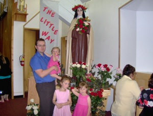 My Beautiful Family at St. Theresa Parish in Wakaw, SK