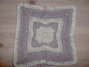 My first crochet block